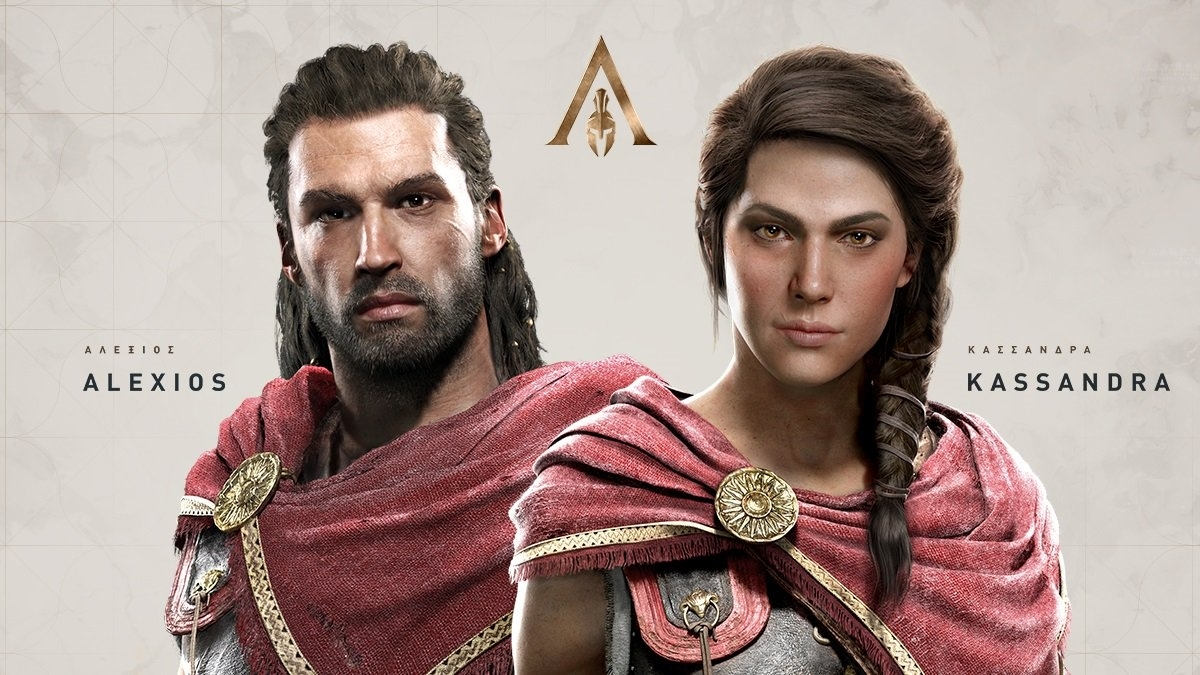 Assassin's Creed Protags Medusa Marketing